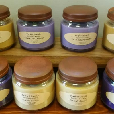 Large Jar Soy Wax Candle
